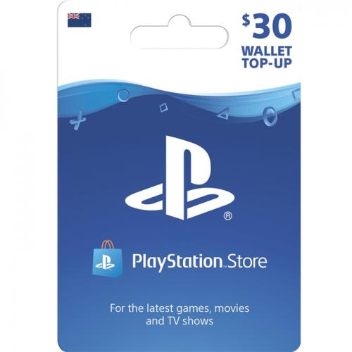 Sony PlayStation Store Digital Gift Card $30 NZD 预付充值礼品卡,虚拟卡免快递,E-Mail邮件秒收货!