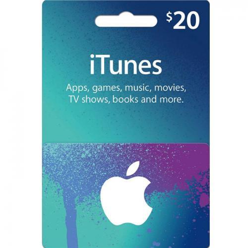 Apple iTunes Digital Gift Card $20 NZD 预付数字充值礼品卡,免物流,秒收货!