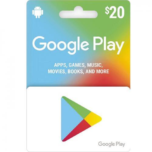 Google Play Digital Gift Cards $20 NZD数字预付充值礼品卡,虚拟卡免快递,E-Mail邮件秒收货!