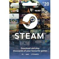 Steam Game Digital Gift Card $20 NZD 预付充值礼品卡,虚拟卡免快递,E-Mail邮件秒收货!