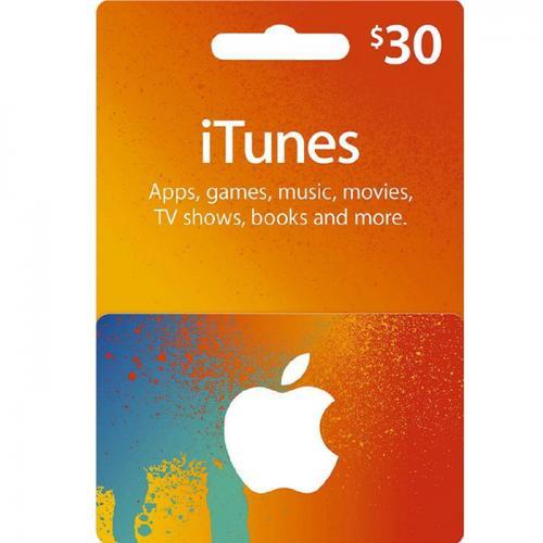 Apple iTunes Digital Gift Card $30 NZD 预付数字充值礼品卡,免物流,秒收货!