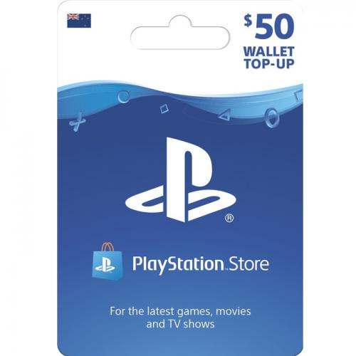 Sony PlayStation Store Digital Gift Card $50 NZD 预付充值礼品卡,虚拟卡免快递,E-Mail邮件秒收货!