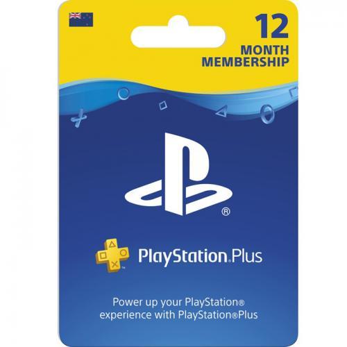 PlayStation Plus 12 Month Membership Digital Gift Card 12个月订阅/包月数字充值礼品卡,虚拟卡免快递,E-Mail邮件秒收货!