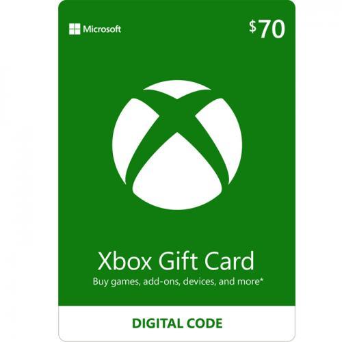 XBox Live Digital Gift Card $70 NZD 数字充值礼品卡,虚拟卡免快递,E-Mail邮件秒收货!