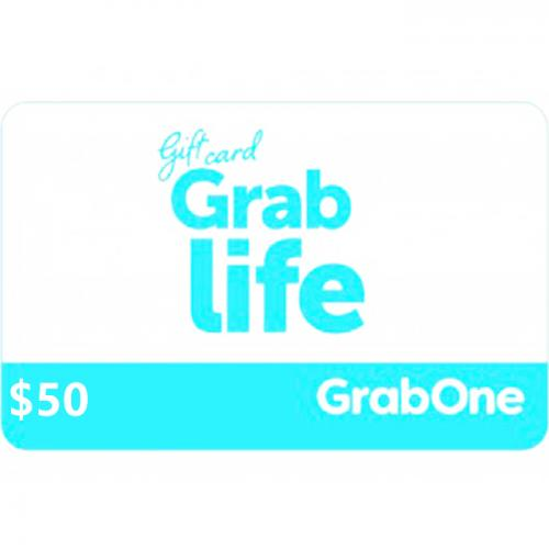 GrabOne Digital Gift Card $50 NZD 数字充值礼品卡,虚拟卡免快递,E-Mail邮件秒收货!