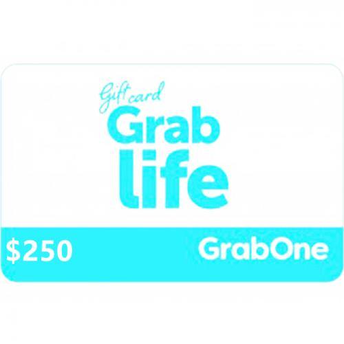GrabOne Digital Gift Card $250 NZD 数字充值礼品卡,虚拟卡免快递,E-Mail邮件秒收货!