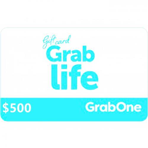GrabOne Digital Gift Card $500 NZD 数字充值礼品卡,虚拟卡免快递,E-Mail邮件秒收货!
