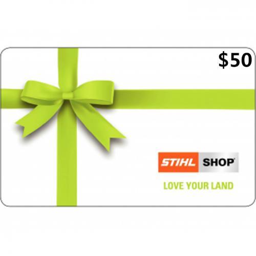 STIHL SHOP Gift Cards $50 NZD 数字预付充值礼品卡,免物流,秒收货!