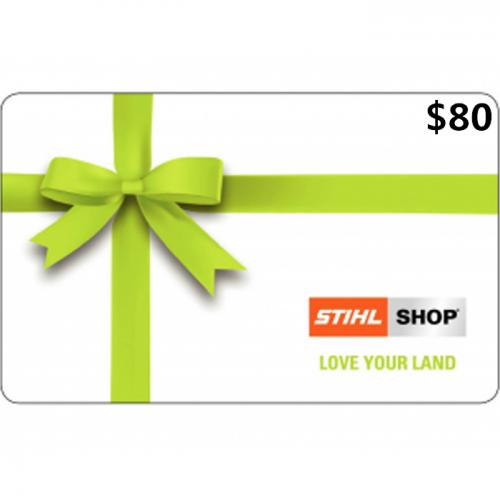 STIHL SHOP Gift Cards $80 NZD 数字预付充值礼品卡,免物流,秒收货!