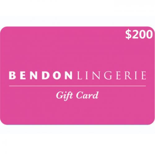 Bendon Lingerie Physical Gift Card $200 NZD 预付充值礼品卡,物理卡需快递,闪电发货!