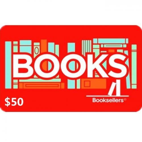 Booksellers Physical Gift Card $50 NZD 预付充值礼品卡,物理卡需快递,闪电发货!