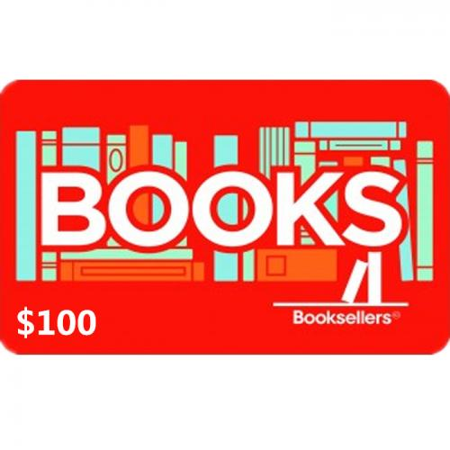 Booksellers Physical Gift Card $100 NZD 预付充值礼品卡,物理卡需快递,闪电发货!
