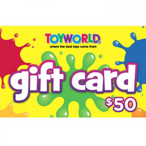 Toyworld Physical Gift Card $50 NZD 预付充值礼品卡,物理卡需快递,闪电发货!
