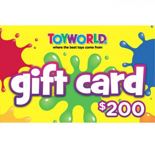 Toyworld Physical Gift Card $200 NZD 预付充值礼品卡,物理卡需快递,闪电发货!