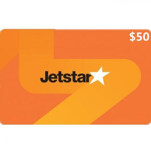 Jetstar Physical Gift Card $50 NZD 预付充值礼品卡,物理卡需物流,闪电发货!