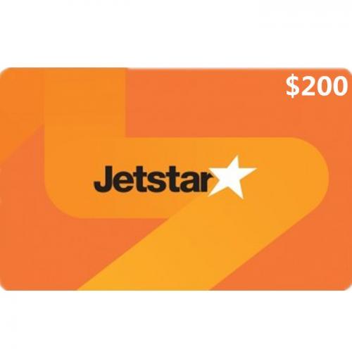 Jetstar Physical Gift Card $200 NZD 预付充值礼品卡,物理卡需物流,闪电发货!