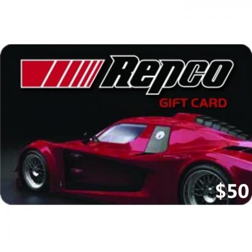 Repco Physical Gift Card $50 NZD 预付充值礼品卡,物理卡需快递,闪电发货!