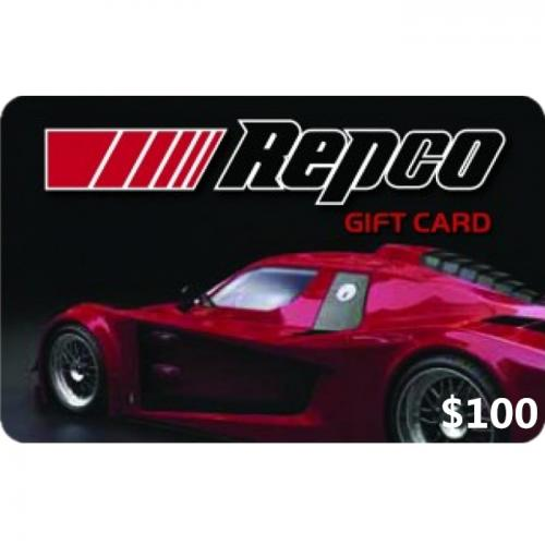 Repco Physical Gift Card $100 NZD 预付充值礼品卡,物理卡需快递,闪电发货!