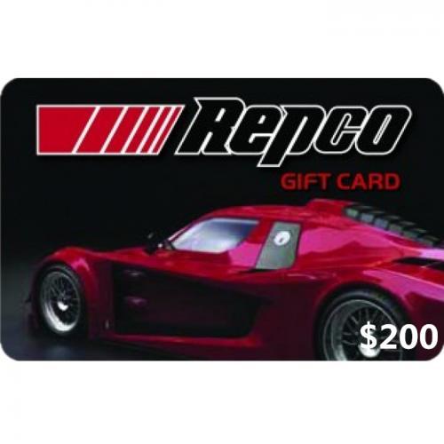 Repco Physical Gift Card $200 NZD 预付充值礼品卡,物理卡需快递,闪电发货!