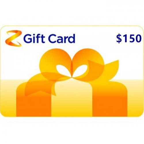 Z Energy Physical Gift Card $150 NZD 预付充值礼品卡,物理卡需快递,闪电发货!