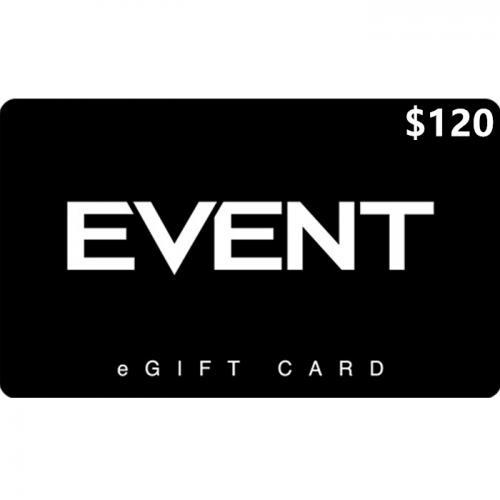 EVENT Cinemas Digital eGift Card $120 NZD 数字预付充值礼品卡,虚拟卡免快递,E-Mail邮件秒收货!