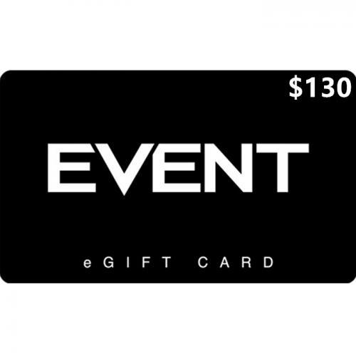 EVENT Cinemas Digital eGift Card $130 NZD 数字预付充值礼品卡,虚拟卡免快递,E-Mail邮件秒收货!