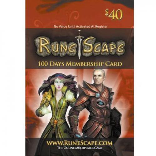 Runescape Gift Card $15 NZD 数字预付充值100天会员礼品卡,免物流,秒收货!