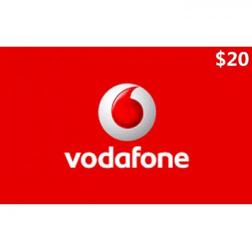 Vodafone Mobile Prepay Digital Gift Card $20 NZD 数字预付充值礼品卡,虚拟卡免快递,E-Mail邮件秒收货!
