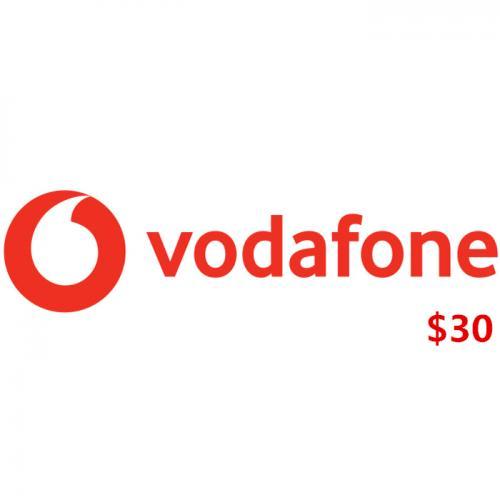 Vodafone Fiji Mobile Prepay Digital Gift Card $30 NZD 数字预付充值礼品卡,虚拟卡免快递,E-Mail邮件秒收货!