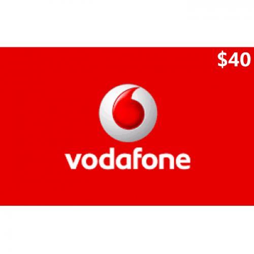 Vodafone Mobile Prepay Digital Gift Card $40 NZD 数字预付充值礼品卡,虚拟卡免快递,E-Mail邮件秒收货!