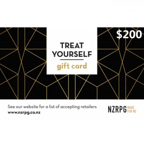 Milford Shopping Centre Physical Gift Card $200 NZD 预付充值礼品卡,物理卡需快递,闪电发货!