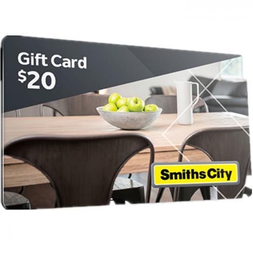 Smiths City  Physical Gift Card $20 NZD 预付充值礼品卡,物理卡需快递,闪电发货!