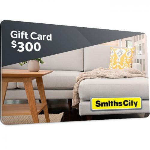 Smiths City  Physical Gift Card $300 NZD 预付充值礼品卡,物理卡需快递,闪电发货!