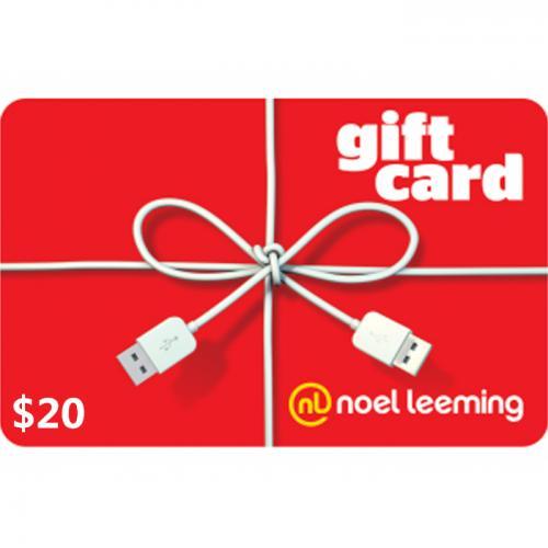 Noel Leeming Digital Gift Card $20 NZD 预付充值数字礼品卡,虚拟卡免快递,E-Mail邮件秒收货!