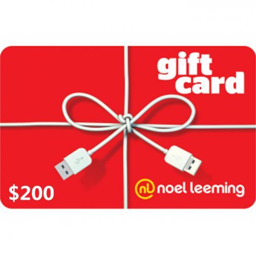 Noel Leeming Digital Gift Card $200 NZD 预付充值数字礼品卡,虚拟卡免快递,E-Mail邮件秒收货!