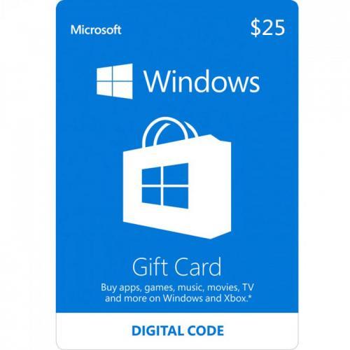Windows Digital Gift Card $25 NZD 预付充值数字礼品卡,免物流,秒收货!