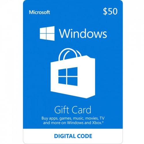 Windows Digital Gift Card $50 NZD 预付充值数字礼品卡,免物流,秒收货!