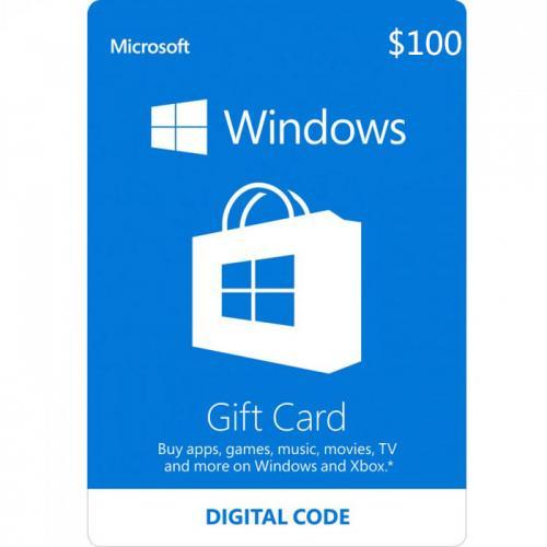 Windows Digital Gift Card $100 NZD 预付充值数字礼品卡,免物流,秒收货!