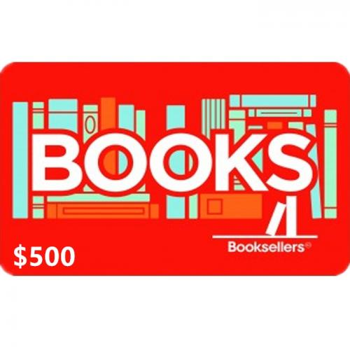 Booksellers Physical Gift Card $500 NZD 预付充值礼品卡,物理卡需快递,闪电发货!