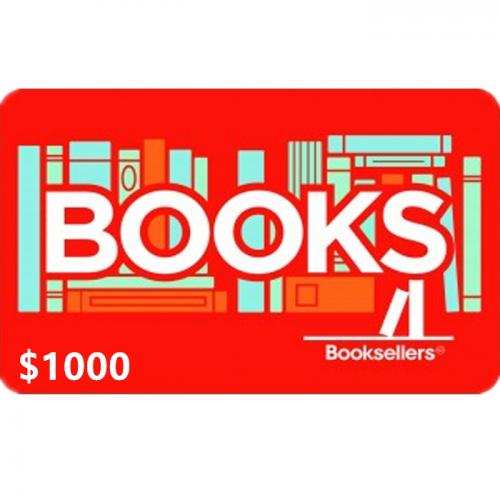 Booksellers Physical Gift Card $1000 NZD 预付充值礼品卡,物理卡需快递,闪电发货!