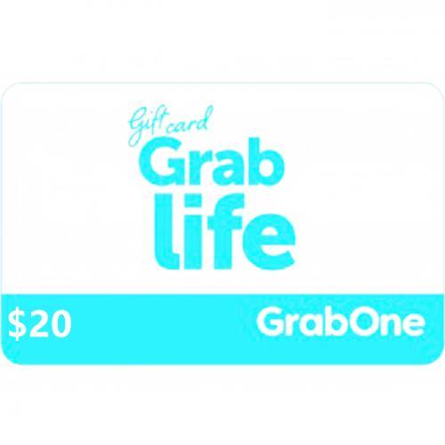 GrabOne Digital Gift Card $20 NZD 数字充值礼品卡,虚拟卡免快递,E-Mail邮件秒收货!