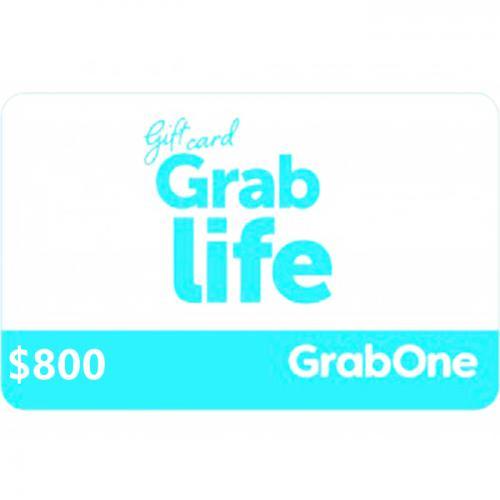 GrabOne Digital Gift Card $800 NZD 数字充值礼品卡,虚拟卡免快递,E-Mail邮件秒收货!