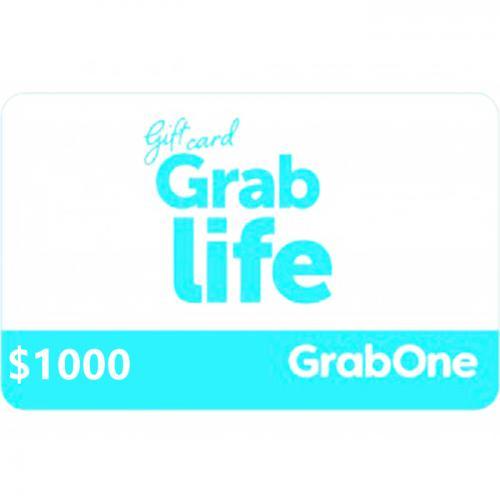 GrabOne Digital Gift Card $1000 NZD 数字充值礼品卡,虚拟卡免快递,E-Mail邮件秒收货!
