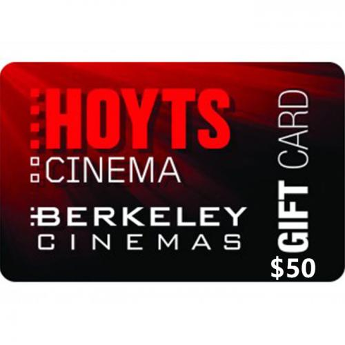 Hoyts Cinemas Physical Gift Card $50 NZD 预付充值礼品卡,物理卡需快递,闪电发货!