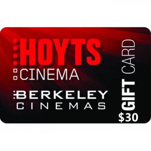 Hoyts Cinemas Physical Gift Card $30 NZD 预付充值礼品卡,物理卡需快递,闪电发货!