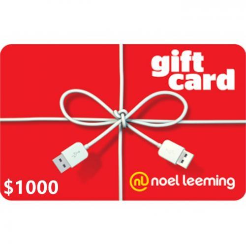 Noel Leeming Digital Gift Card $1000 NZD 预付充值数字礼品卡,虚拟卡免快递,E-Mail邮件秒收货!