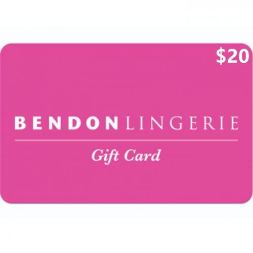 Bendon Lingerie Physical Gift Card $20 NZD 预付充值礼品卡,物理卡需快递,闪电发货!