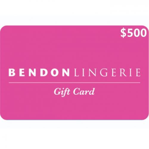 Bendon Lingerie Physical Gift Card $500 NZD 预付充值礼品卡,物理卡需快递,闪电发货!