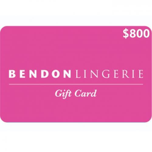 Bendon Lingerie Physical Gift Card $800 NZD 预付充值礼品卡,物理卡需快递,闪电发货!