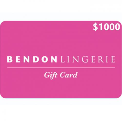 Bendon Lingerie Physical Gift Card $1000 NZD 预付充值礼品卡,物理卡需快递,闪电发货!